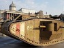 영국군의 MK1 탱크와 아르마딜로를 합성시킨 영국 ELP 그룹의 TARKUS 앨범-Armadillo with the British MK1 Tank combined pictures used ELP TARKUS