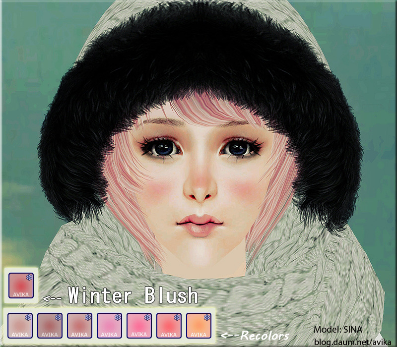 Avika*Winter Blush