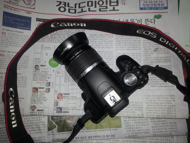 캐논 EOS500 DSLR로 업그레이드^^