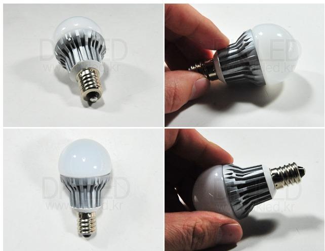 [LED전구] 교체하고 전기료를 줄여보자 백열전구 대체용 LED 꼬마 ...
