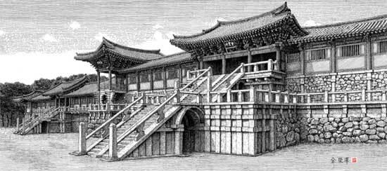 경주 불국사 Ⅲ  - 대석단, 청운교,백운교, 연화교, 칠보교