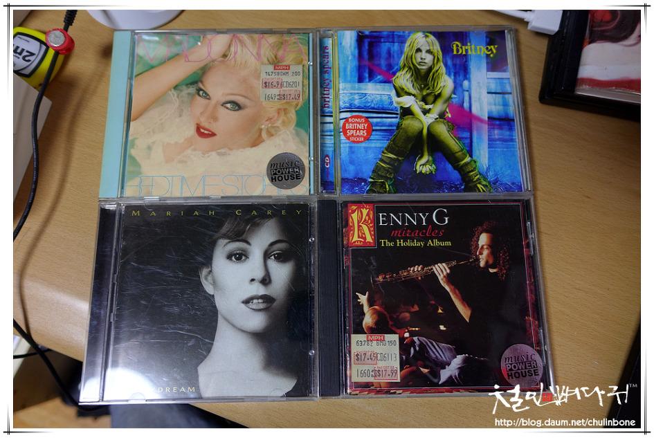 [CD] 마돈나.브리트리.머라이어캐리.캐니지