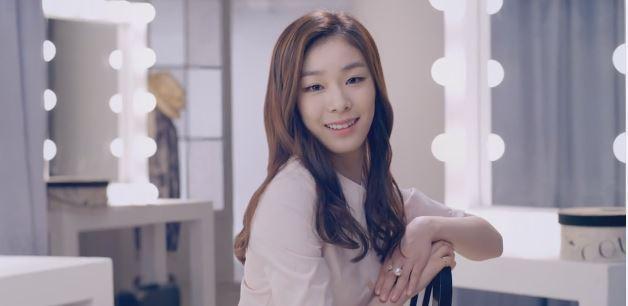 Yuna Kim's Saffron CF Filmmaking