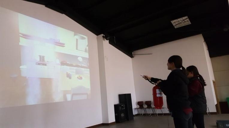 VR재난안전교육