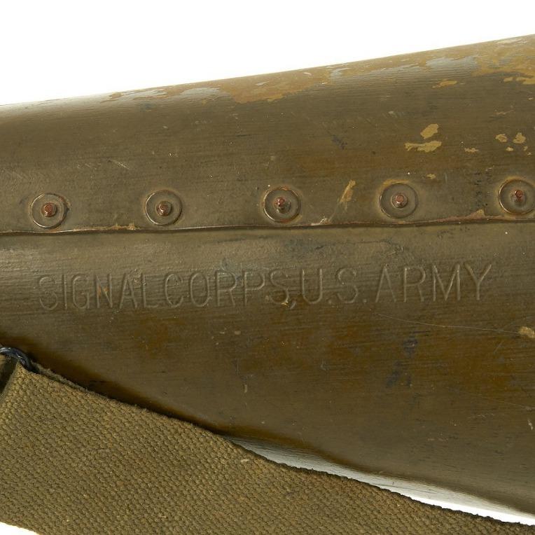 미 육군 통신대의 64식 메가폰- WW2 U.S Army Signal Corps used Type 64 Megaphone