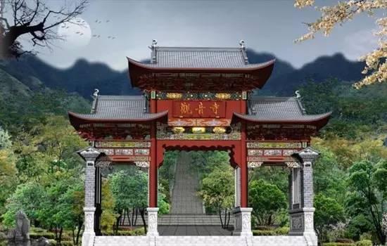 중국의 불사(佛寺, 절)는 어떻게 배치하는가?