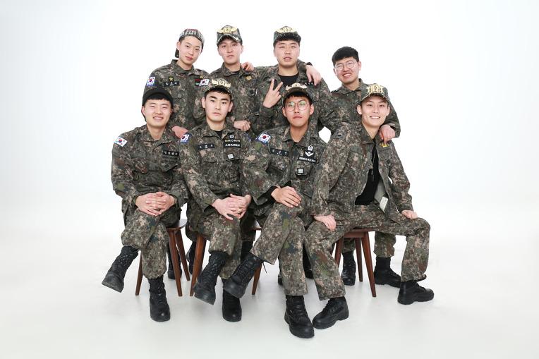군인우정사진 전역기념, 재밌고 신나게!