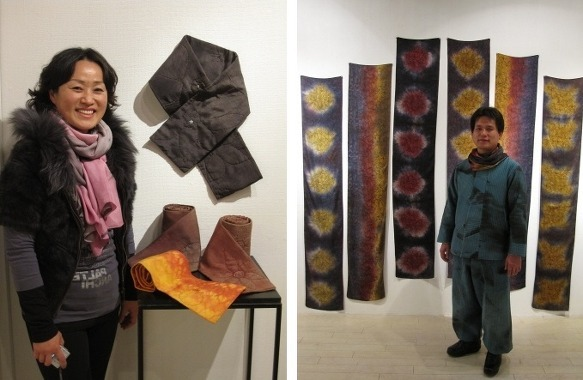 <Gyeongbuk Natural Dyeing Association declared that it will become a Mecca of the natural dyeing after hosting 'Symposium for the Vitalization of the Natural dyeing Industry' last June.> (Photograph: Fashion Journal)