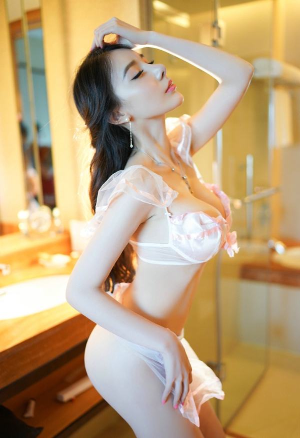 hot transparent lingerie girls