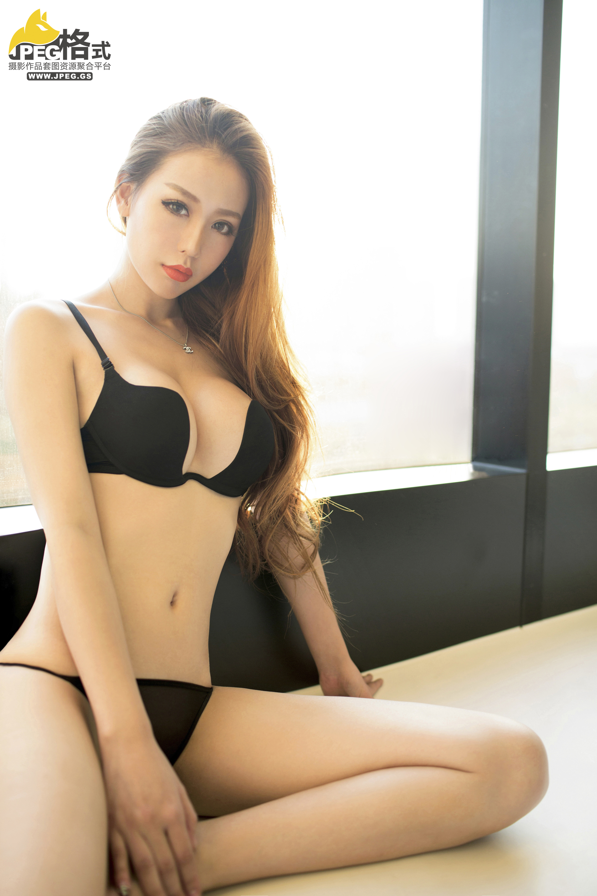 hot Asian in sexy pose