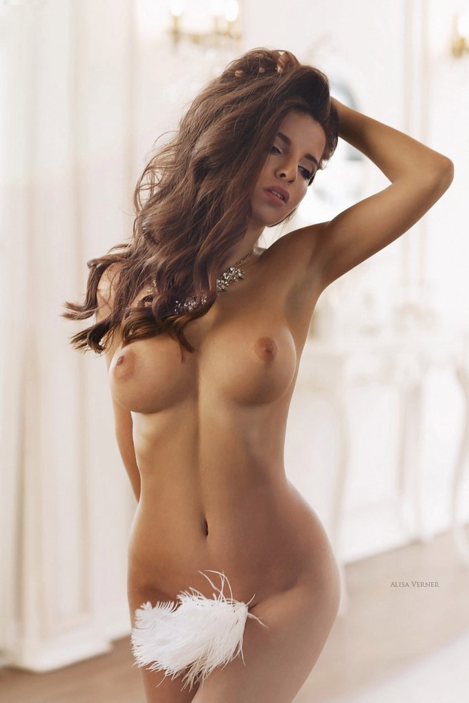 hot glamour nude girl