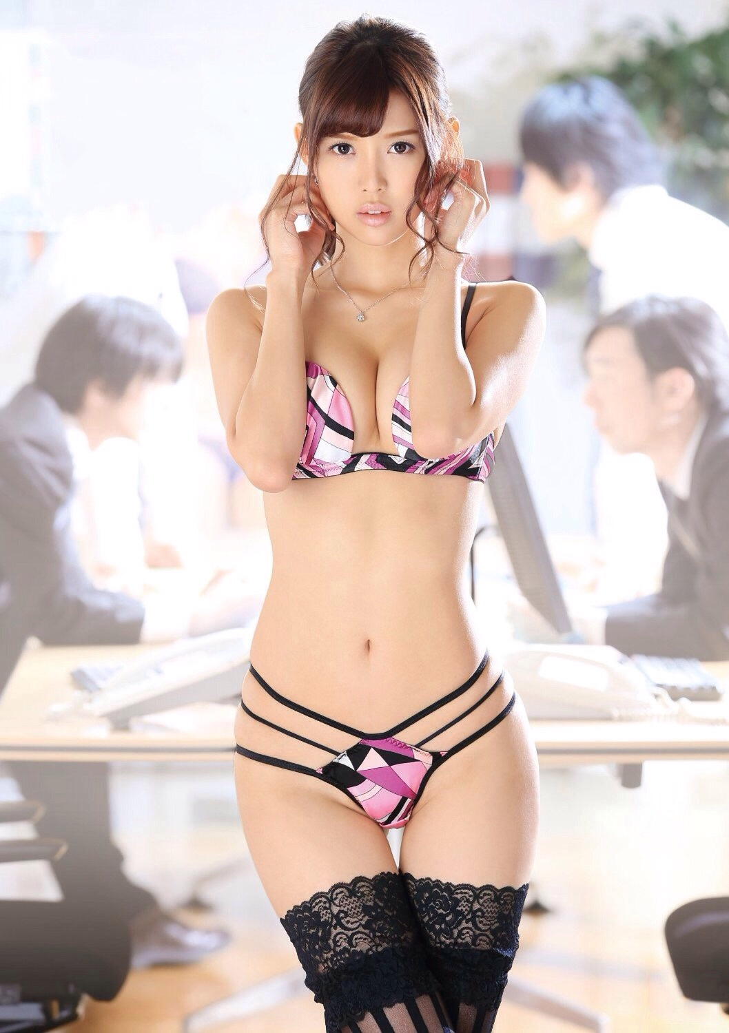 cool Japanese in sexy wear