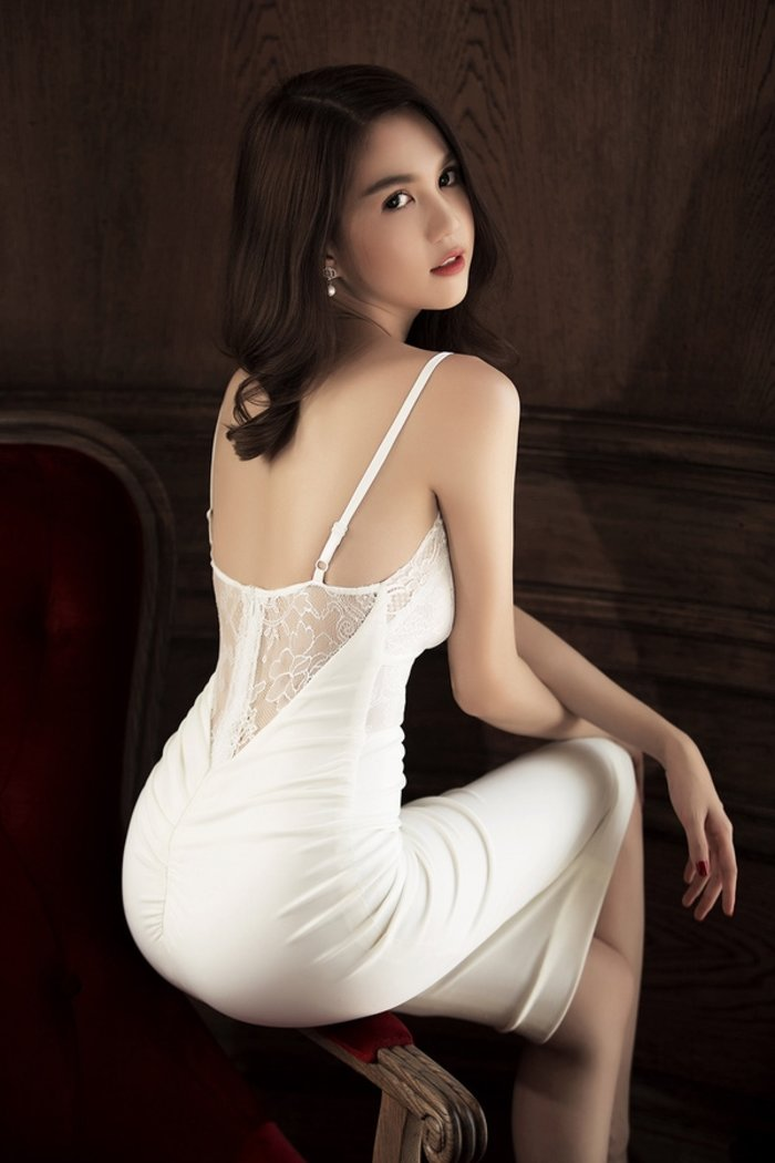 hot dressed Asian girl